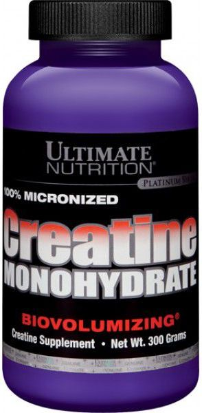 100% Micronized Creatine Monohydrate 300 г (Ultimate)