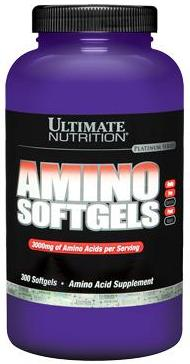 Amino Softgels 300 гел.к (Ultimate)