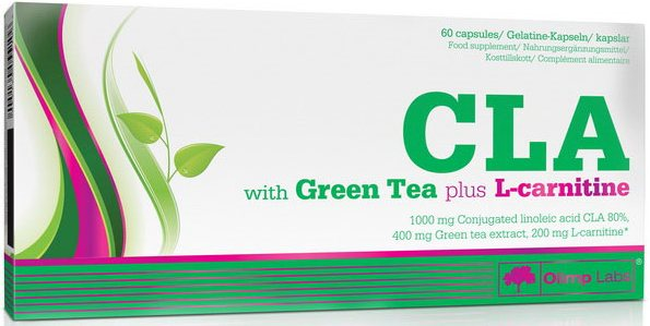 CLA with Green Tea + L-Carnitine 60 к (Olimp)