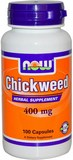 Chickweed 400 мг 100 к (NOW)