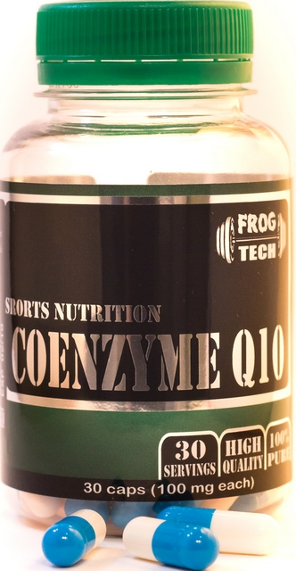 Coenzyme Q10  100 мг 30 к (FrogTech)
