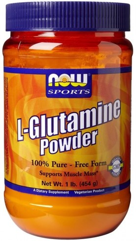 L-Glutamine Powder 450 г (NOW)