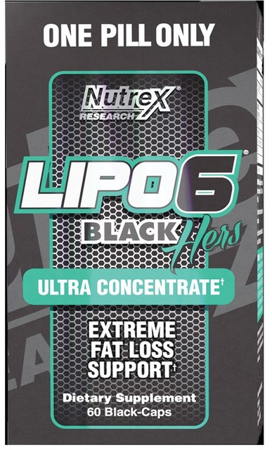Lipo 6 Black Hers Ultra Concentrate 60 к (Nutrex)