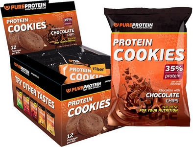 Protein Cookies 80 г (PureProtein)