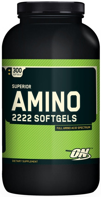 Superior Amino 2222 Softgels 300 гк (Optimum)