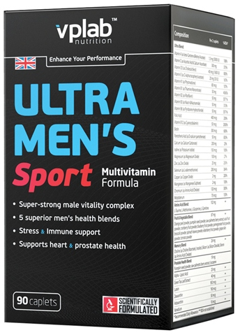 Ultra Mens Sport Multivitamin 90 к (VPLab)
