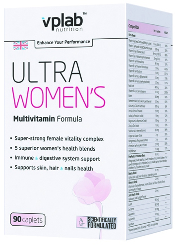 Ultra Womens Multivitamin 90 к (VPLab)