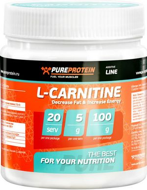 L-Carnitine 100 г  (PureProtein)
